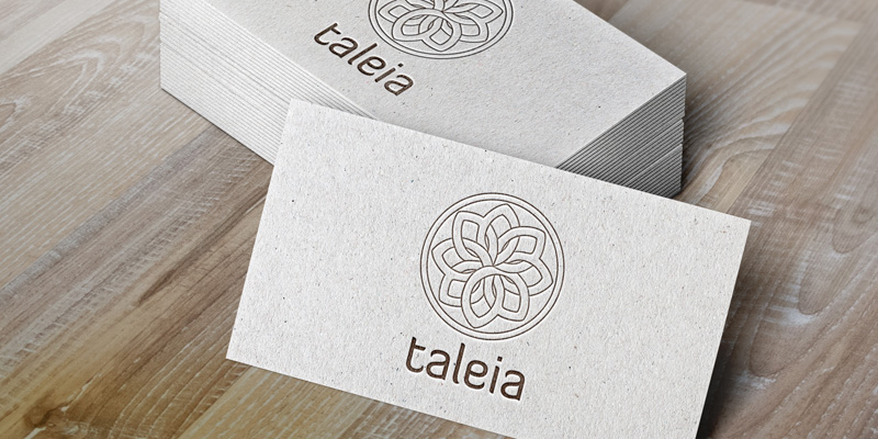 taleia logo dizajn