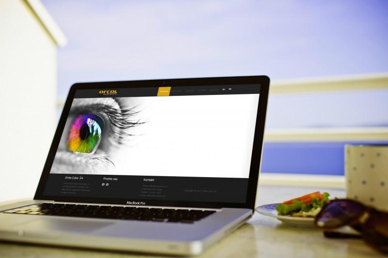 orcol24 website dizajn