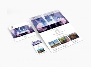 travel design website by 9design